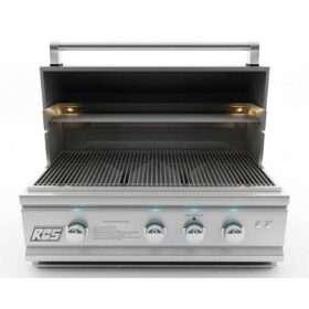 RCS Cutlass Pro 30-Inch Built-In Propane Gas Grill - RON30A-LP
