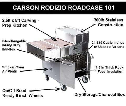 Carson Rodizio Roadcase