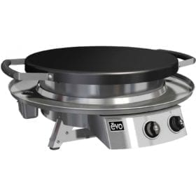 Evo Professional Classic Tabletop Flattop Natural Gas Grill With Ceramic Cooking Surface